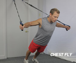 Chest Fly with Suspension Trainer
