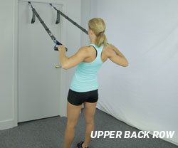 Upper Back Row with Suspension Gym
