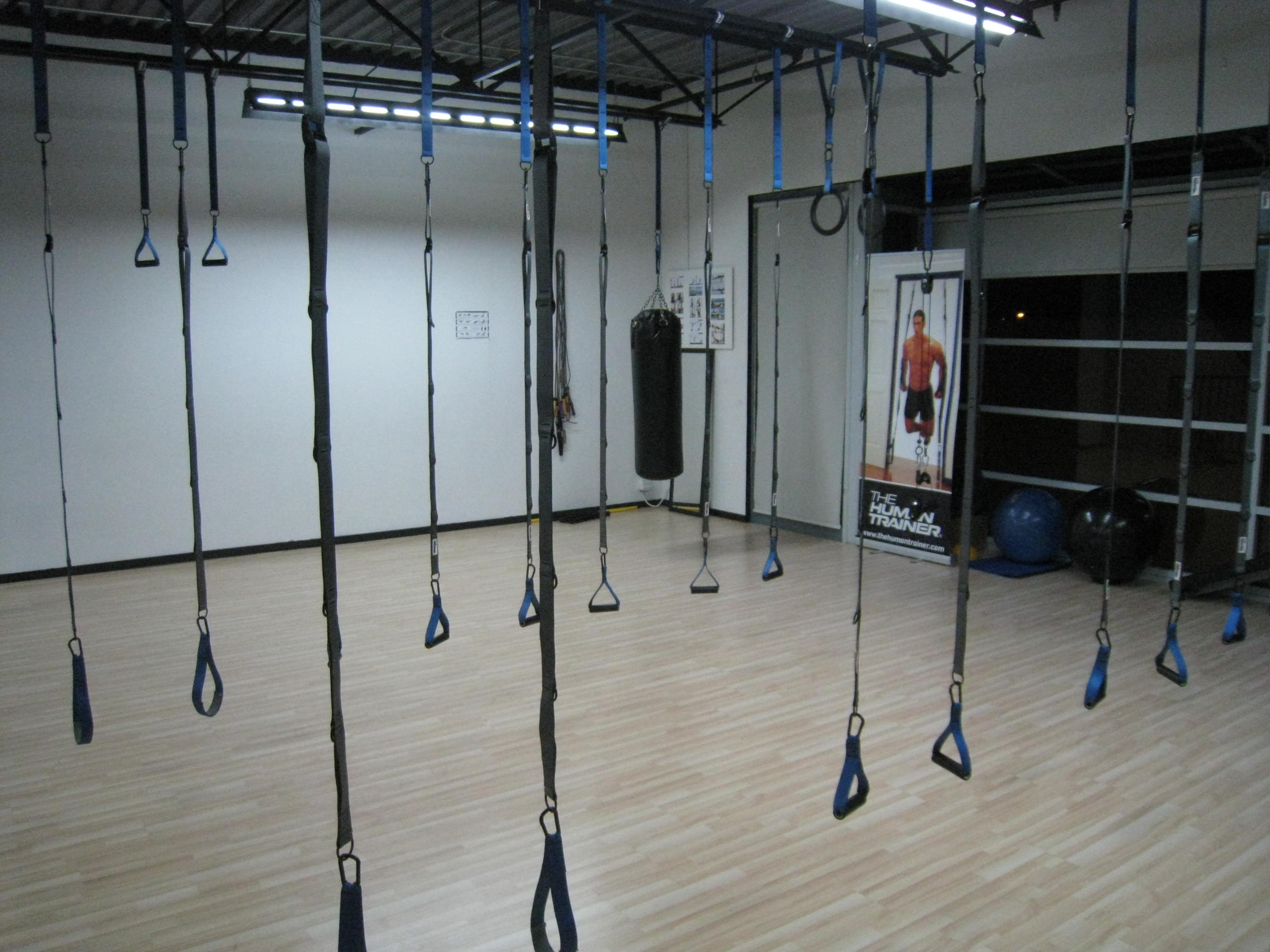 The Human Trainer Suspension Gym Education Facility requirements