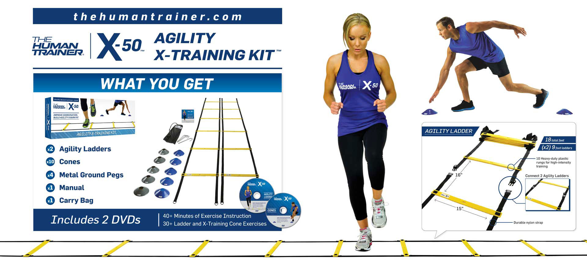 Human Trainer Agility X-Training Kit
