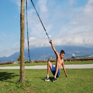 The Human Trainer Suspension Trainer is the industries best bodyweight tool for indoor and outdoor exercise to build strength and conditioning.