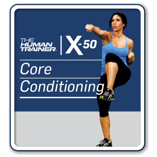 The Human Trainer X-50 Core Conditioning Streaming On-Demand Workout