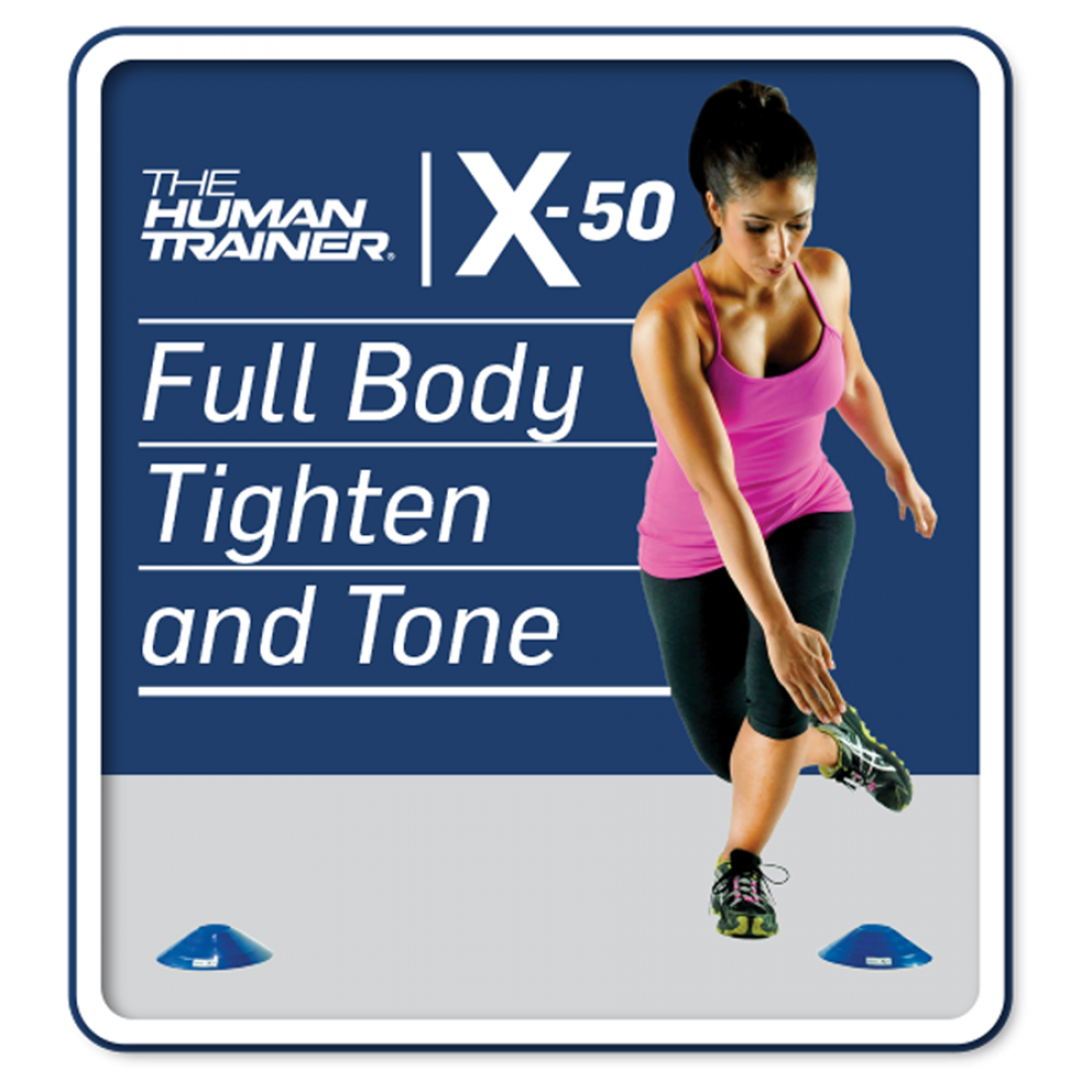 The Human Trainer X-50 Full Body Tighten and Tone Streaming On-Demand Workout