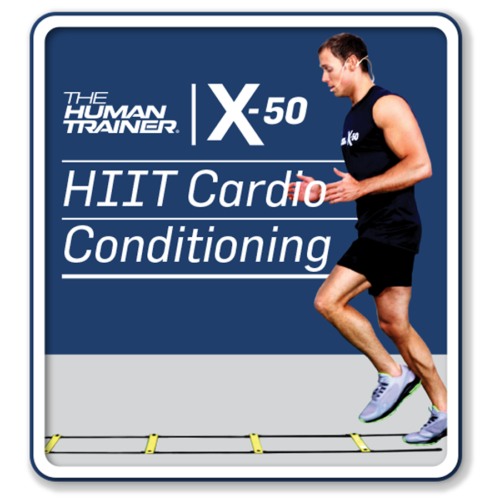 The Human Trainer X-50 HIIT Cardio Conditioning Streaming On-Demand Workout