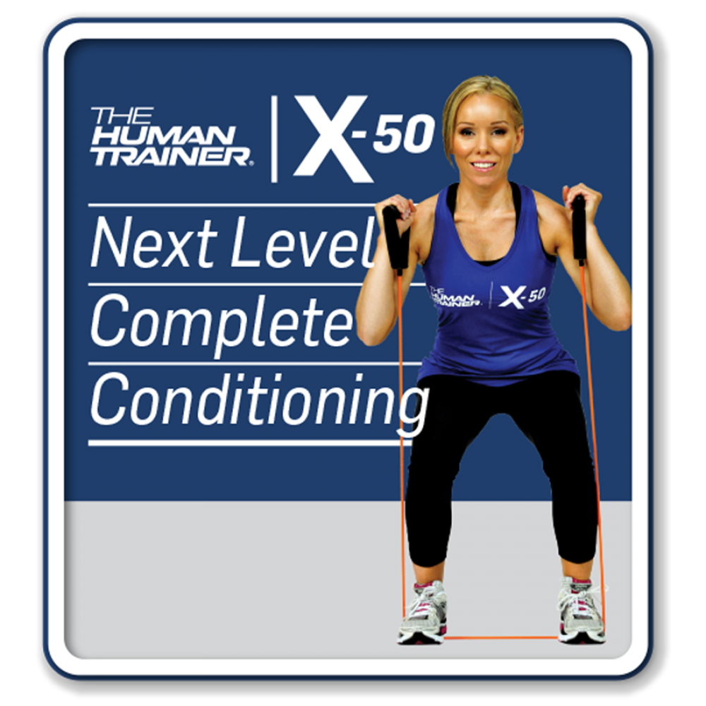 The Human Trainer X-50 Next Level Complete Conditioning Streaming On-Demand Workout