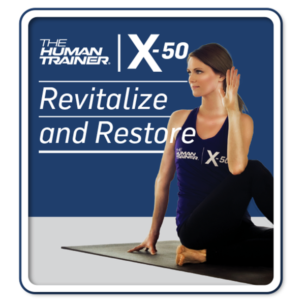 The Human Trainer X-50 Revitalize and Restore Yoga
