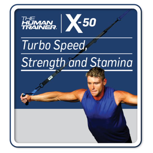 The Human Trainer X-50 Turbo Speed, Strength and Stamina Digital Streaming On-Demand Workout