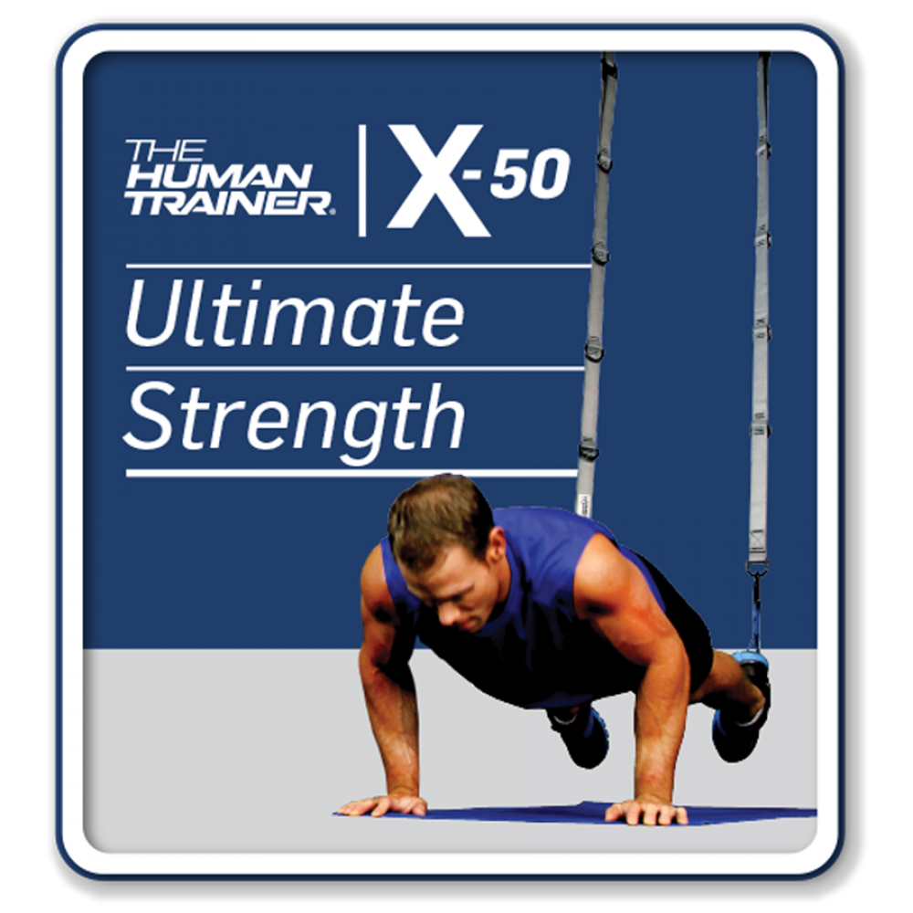 The Human Tariner X-50 Ultimate Strength Digital Streaming On-Demand Workout