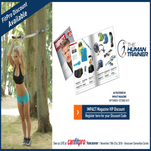 The Human Trainer featured in Impact Fitness Magazine