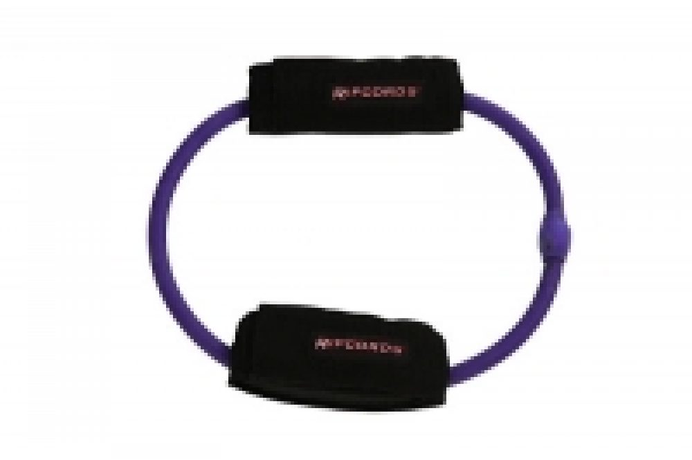 Stretch Buddy Purple Leg Cord, ideal for rehabilitation movements.