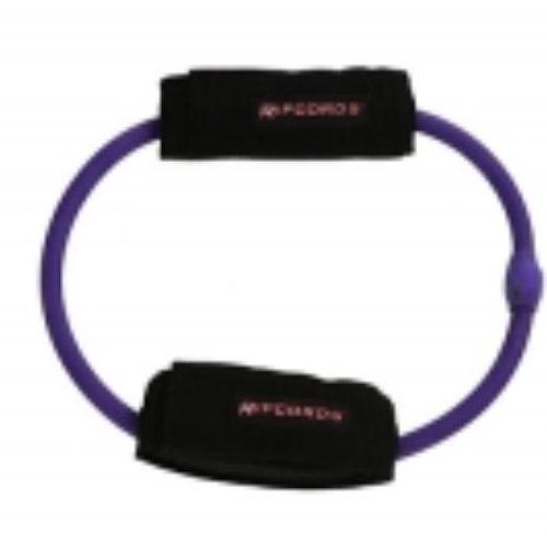 Stretch Buddy Purple Leg Cord, ideal for rehabilitation movements.