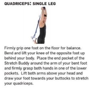 Stretch Buddy Quadricep Stretch
