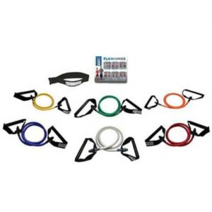 Flexcords exercise bands 6 pack training kit