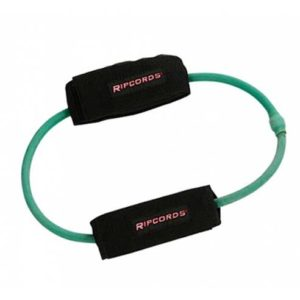 Ripcords Green Leg Cord to train the lower body.