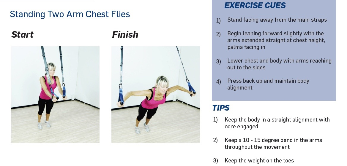 The Human Trainer Chest Flies is a great exercise to build a strong, lean and muscular upper body.