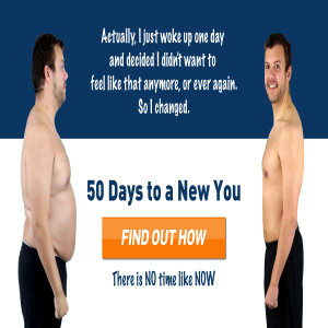 The Human Trainer X50 - 50 Day Challenge - New Year, New you banner
