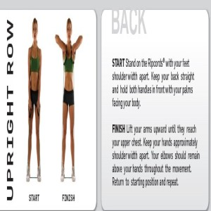 Ripcords Resistance Band Upright Row
