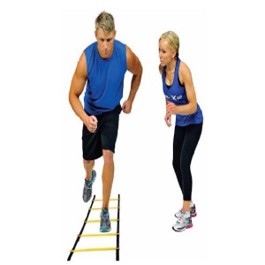 The Agility Ladder is an excellent training tool to build balance, coordination, speed and muscular endurance.