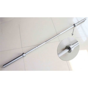 The Olympic Weight Training Bar is a commercial grade bar designed for all lifts and can be used in home gyms and commercial training faciilities.