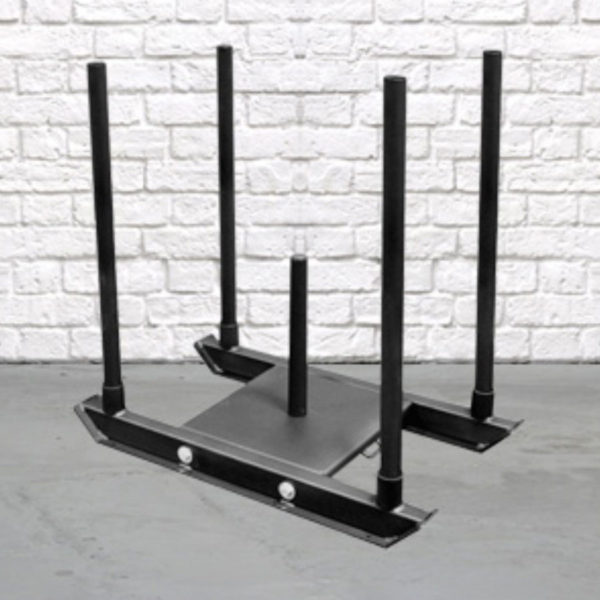The 4 Post Training Sled is an excellent functional training tool designed to build strength, speed and upper body and lower body conditioning. Train indoors and outdoors with this heavy duty and compact sled.