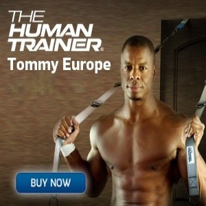 The Human Trainer Suspension Gym with Tommy Europe