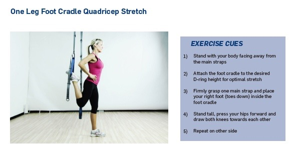 cradle quad stretch