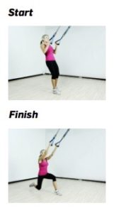 HT Reverse lunge