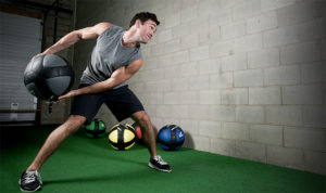 functional training with medicine ball