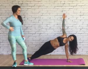 one-hand-plank