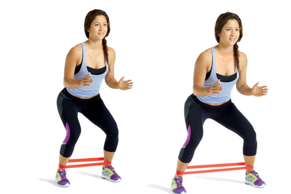 Resistance Band Workout to Help Strengthen your Knees ...