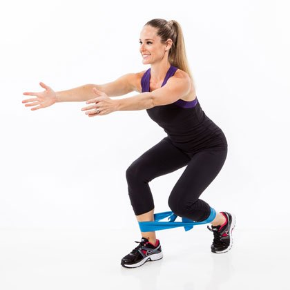 resistance-band-forward-lunge